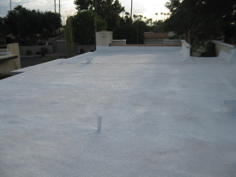 Polyurethane Foam Roof Pictures Jack The Roofer