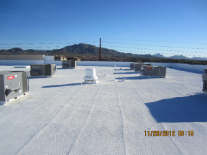 Polyurethane Foam roof in Phoenix
