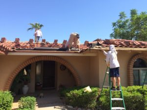 Arizona roofer